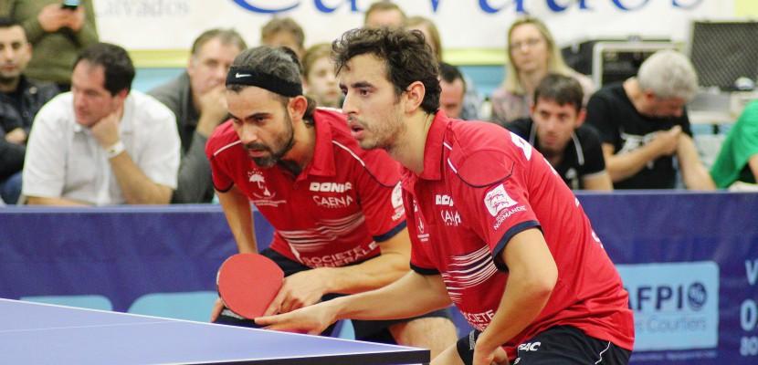 Tennis de Table (Pro B) : Le Caen TTC corrigé par Issy