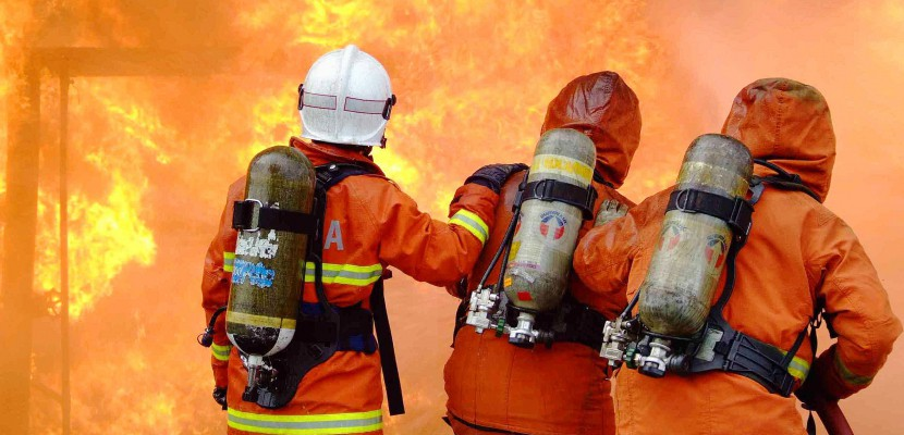 Seine-Maritime: un incendie dans une maison près de Luneray