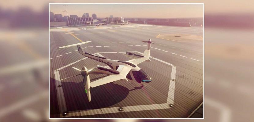 Les Taxis-volants (UBER-NASA) arriveront en 2023