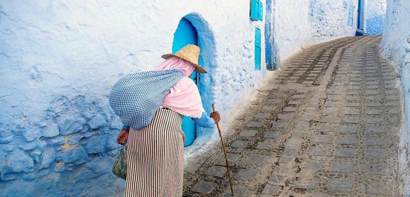 Au Maroc, Chefchaouen, la ville bleue qui se veut verte
