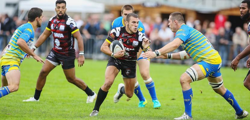 Le Rouen Normandie Rugby chute face à Bourg-en-Bresse