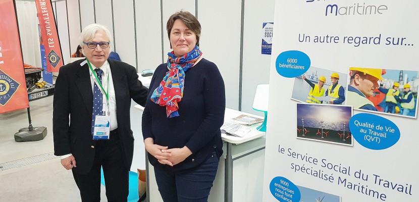 Assises de l'économie de la mer au Havre: présentation de l'association Service social maritime