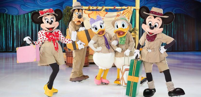 """Découvrez """"Le voyage imaginaire"""", le nouveau spectacle de Disney sur glace à Rouen"""