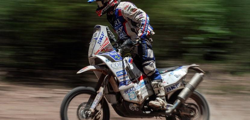 Une moto du Dakar 2018 volée au Havre