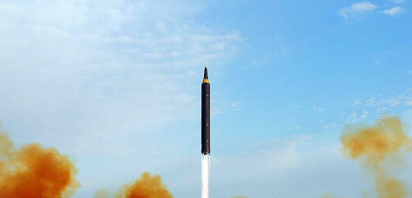 Nouveau tir de missile balistique par la Corée du Nord