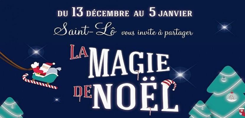 La magie de Noël à Saint-Lô : découvrez le programme des animations