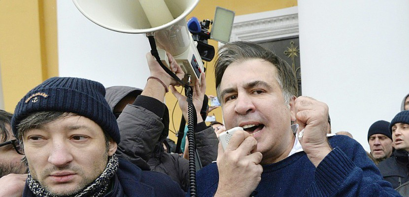 Ukraine: l'opposant Saakachvili interpellé puis libéré par ses partisans
