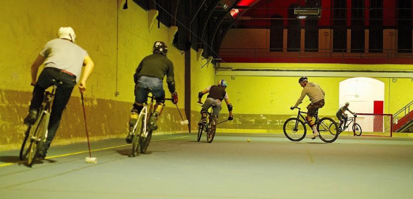 La Ligue du Crachin, compétition régionale de bike polo fait son retour à Caen