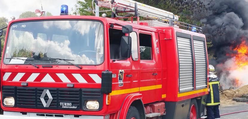 Manche : un feu de cheminée se propage à une maison, la famille relogée