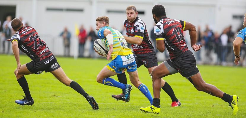 Rugby: le Rouen Normandie Rugby en déplacement à Tarbes