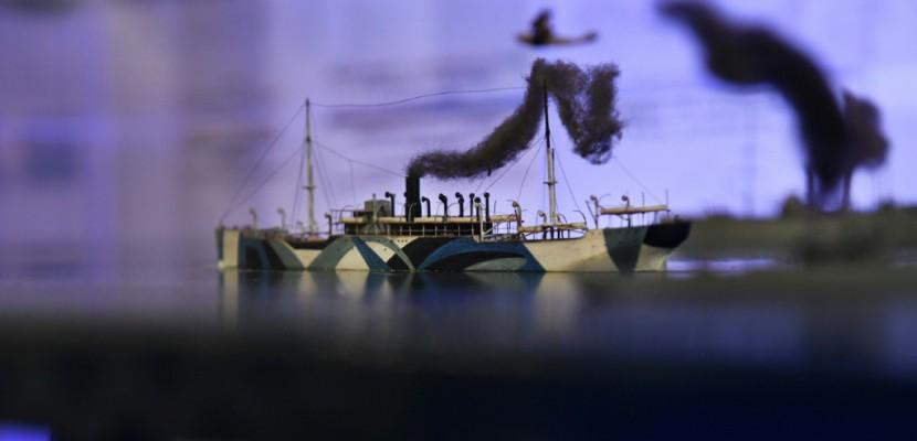"""Le """"Razzle Dazzle"""", ou l'art de camoufler les bateaux"""