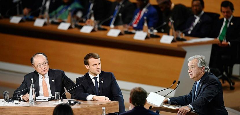 """Un sommet pour ne pas """"perdre la bataille"""" contre le réchauffement"""