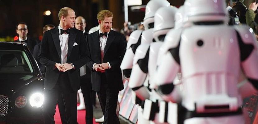 Star Wars: avant-première en grande pompe du VIIIe épisode à Londres