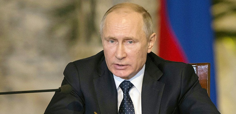 Premier show médiatique pour le candidat Poutine