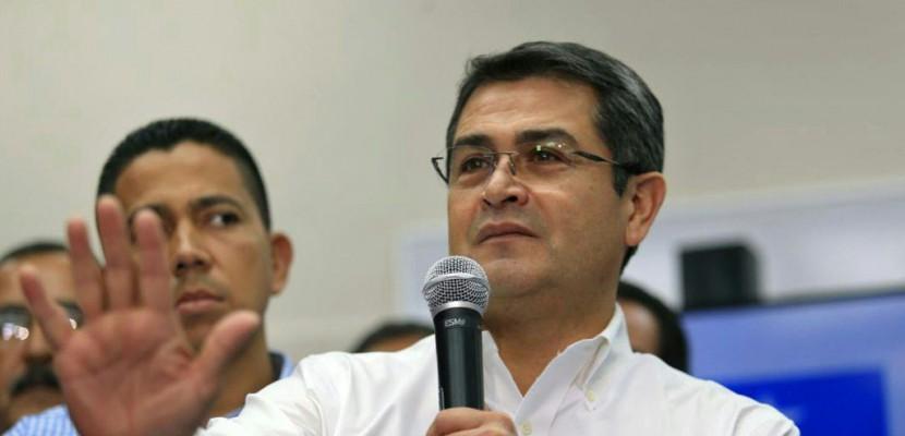 Honduras: le président sortant Hernandez déclaré vainqueur après un scrutin controversé