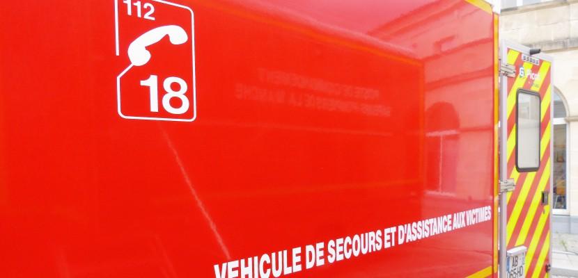 Accident entre deux poids lourds dans l'Orne, un chauffeur blessé