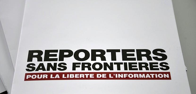 Une année moins meurtrière mais toujours terrible pour les journalistes selon RSF