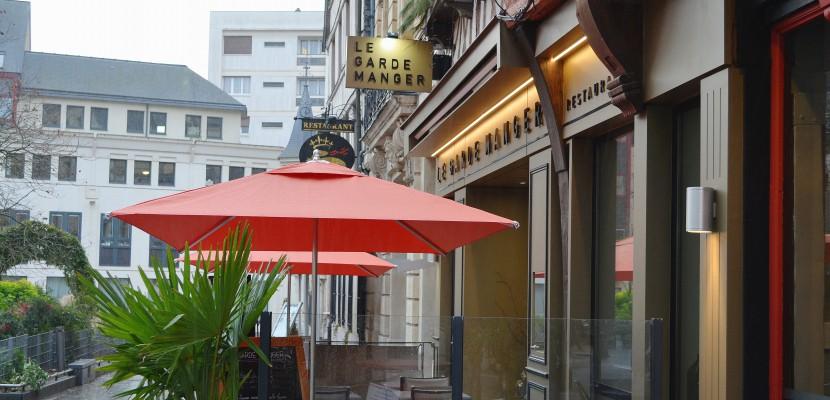 Bonne table à Rouen : le Garde manger, place de la Pucelle