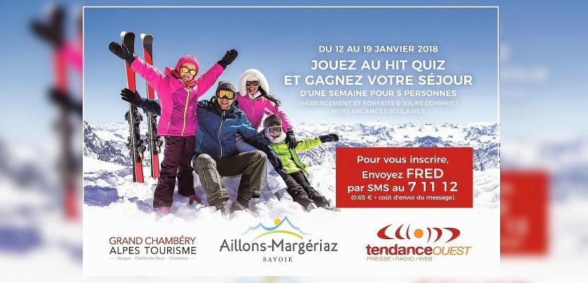 Maryline d'Evrecy (Calvados - 14) gagne son séjour au Ski à Aillons-Margériaz (Savoie)!