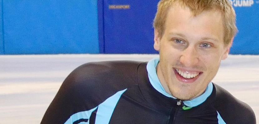 Shorttrack : à un mois des JO, le normand Sébastien Lepape rafle deux médailles