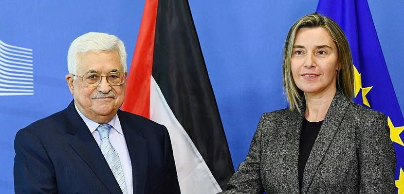 Mahmoud Abbas demande à l'UE de reconnaître l'Etat de Palestine