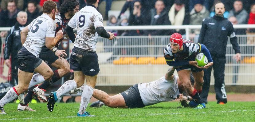 Rugby : Rouen fait bonne figure mais s'incline face au leader