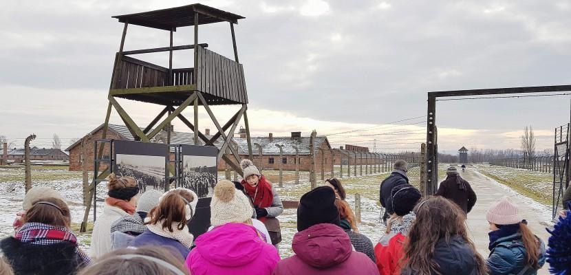 Normandie : 150 lycéens face à l'enfer d'Auschwitz-Birkenau