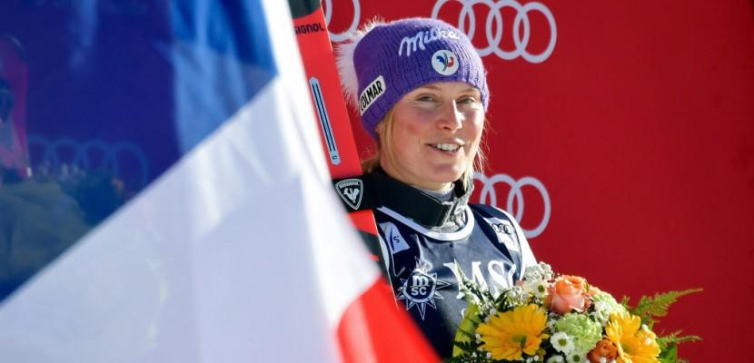 Ski: Tessa Worley regoûte à la victoire en géant juste avant les Jeux