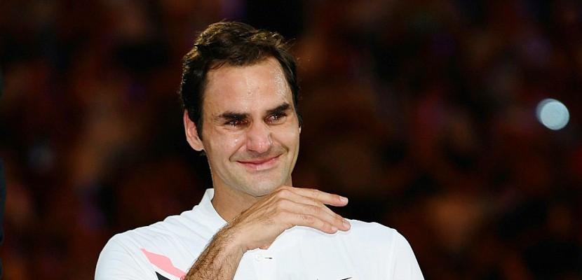 Open d'Australie: des larmes de joie pour la vingtième de Federer