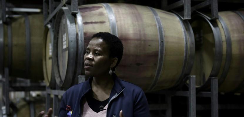 En Afrique du Sud, une Noire au pays des vignerons blancs