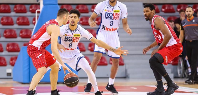 Basket (Pro B) : Rouen remporte une grosse victoire face à Roanne