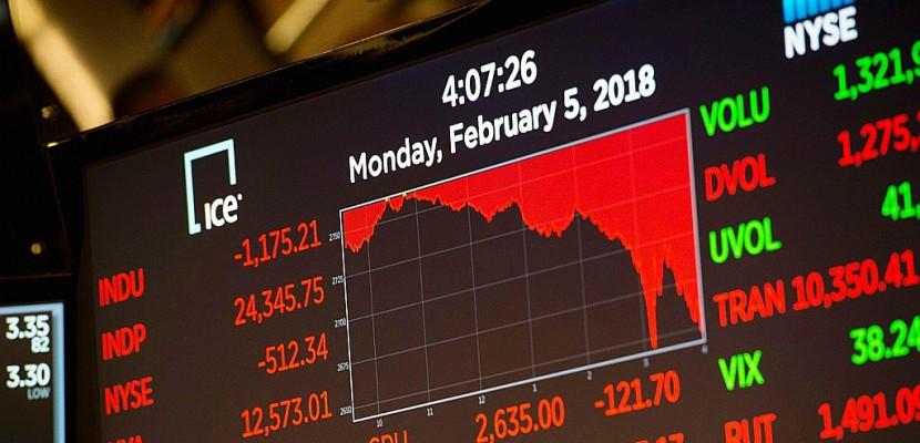 Débâcle sur les places asiatiques après le plongeon de Wall Street