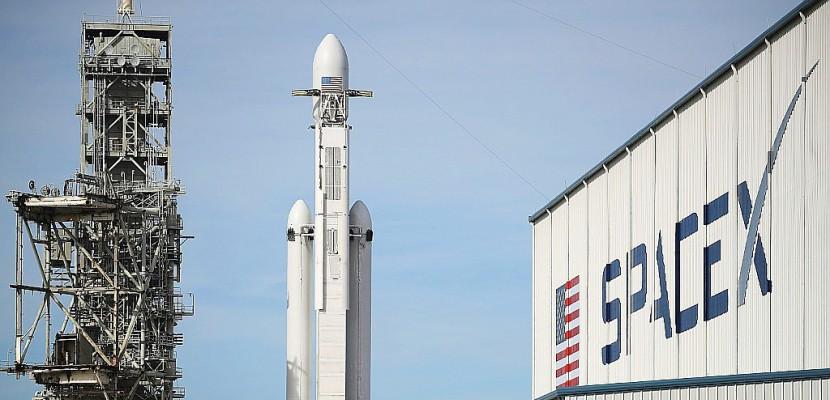 Avec sa fusée Falcon Heavy, SpaceX veut s'ouvrir le chemin vers Mars