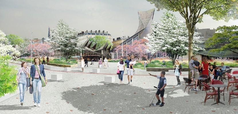 D'ici 2020, la place du Vieux-Marché à Rouen va changer de visage