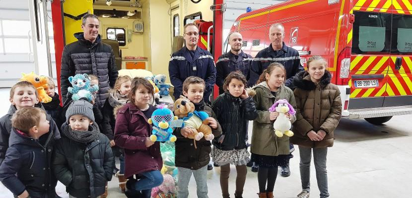 Parcours du jeune pompier pour les enfants des forains d'Alençon