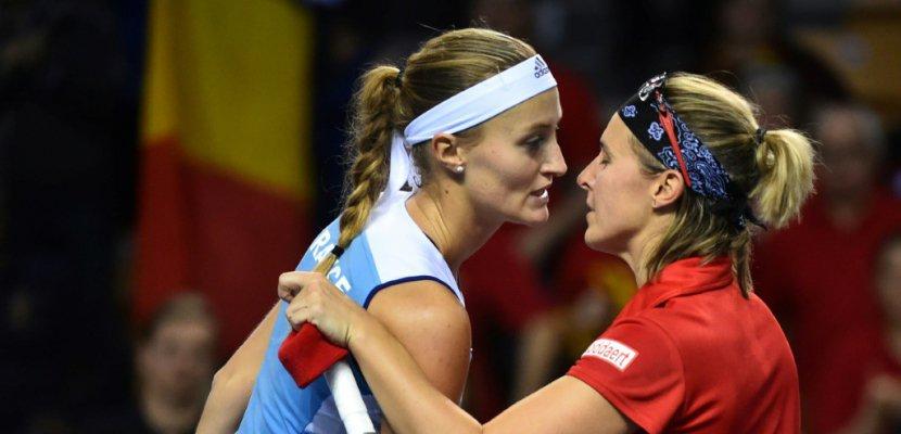 Fed Cup: Mladenovic égalise pour la France devant la Belgique