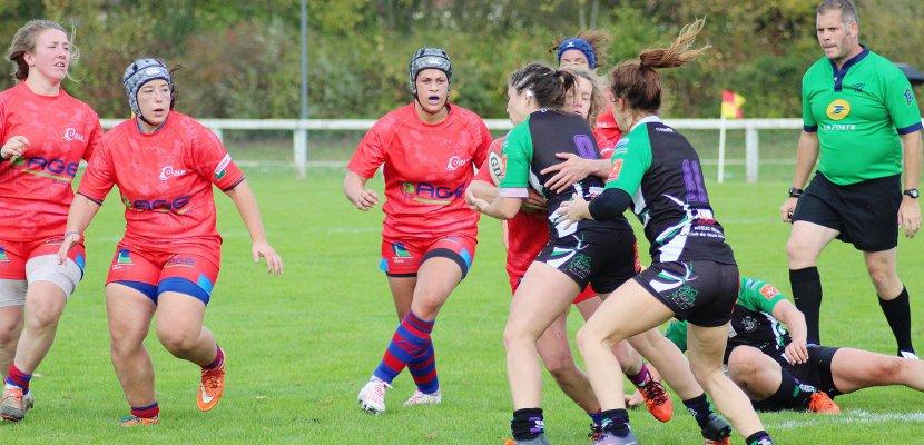 Rugby féminin. L'Ovalie Caennaise remporte son derby face à l'ASRUC (23-18)