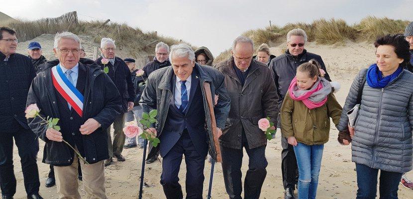 Crash d'unhydravion dansla Manche: 70 ans après, l'hommage aux victimes