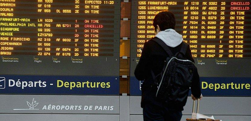 Grève pour de meilleurs salaires, des avions d'Air France cloués au sol