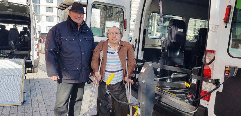A Rouen, de nouveaux minibus pour les personnes à mobilité réduite