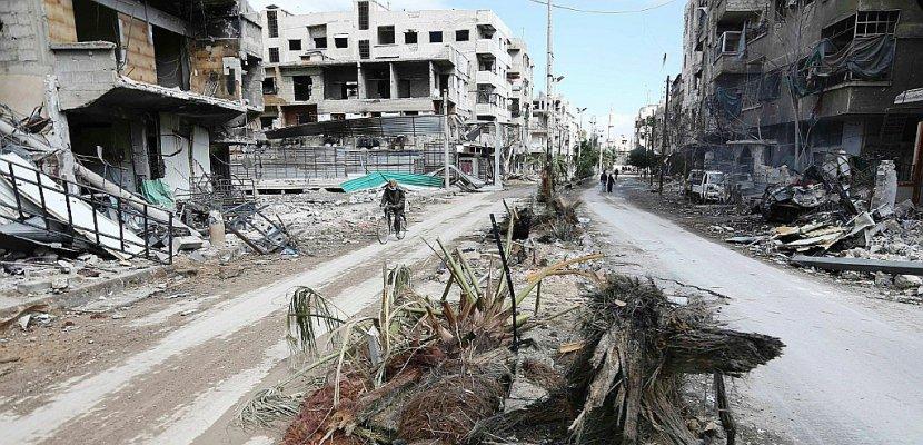 """Ghouta orientale: poursuite des combats au sol au 2e jour de la """"pause"""" humanitaire"""