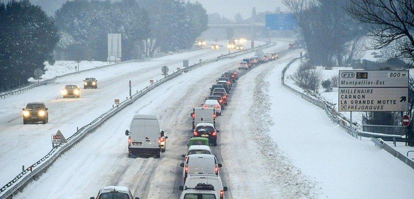 La neige sur le Nord après avoir perturbé les transports dans le Sud