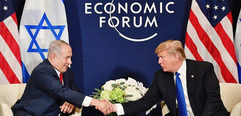Trump accueille à la Maison Blanche un Netanyahu dans la tourmente