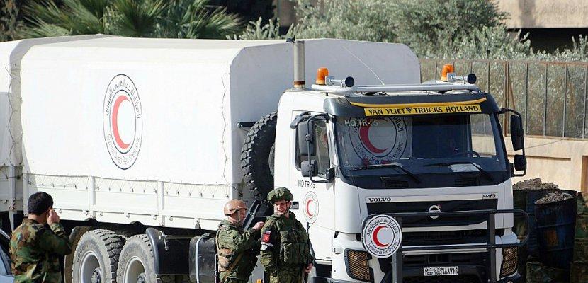 Syrie: le régime accentue son emprise sur la Ghouta, privée d'aide humanitaire