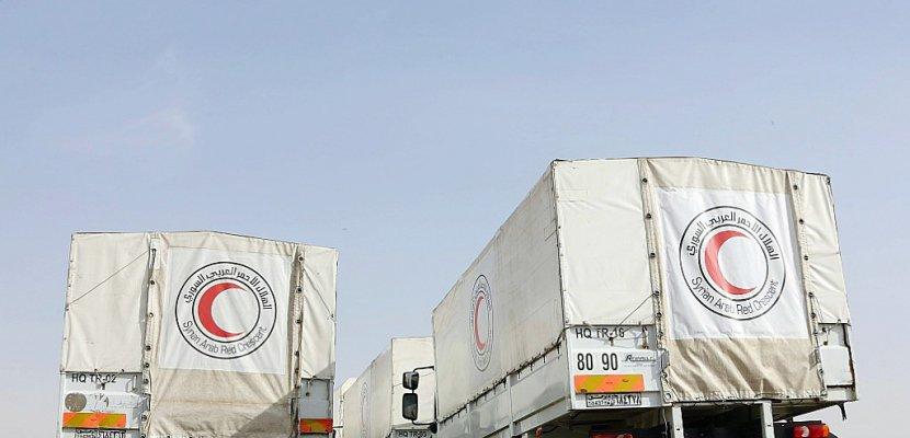 Syrie: un convoi humanitaire est entré dans la Ghouta (CICR)