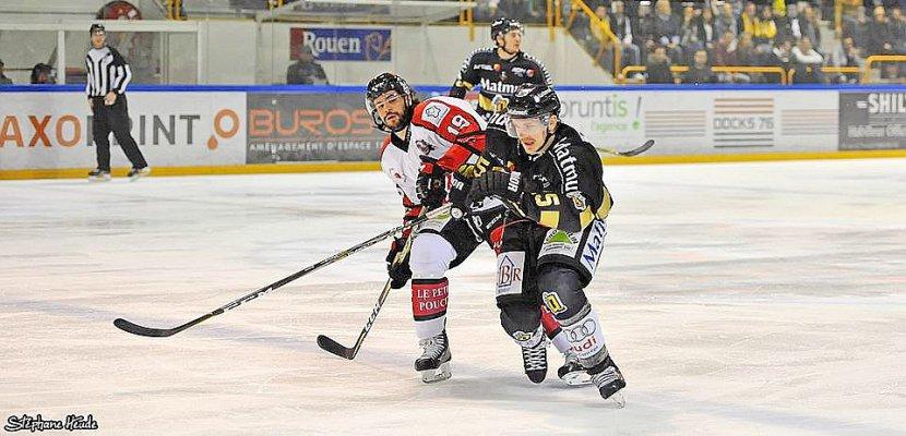 Hockey-sur-glace: mauvais démarrage des Dragons de Rouen face aux Gothiques d'Amiens