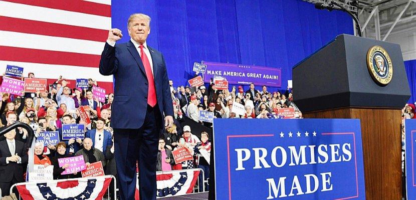 """Trump a son slogan pour 2020: """"Gardons sa grandeur à l'Amérique !"""""""