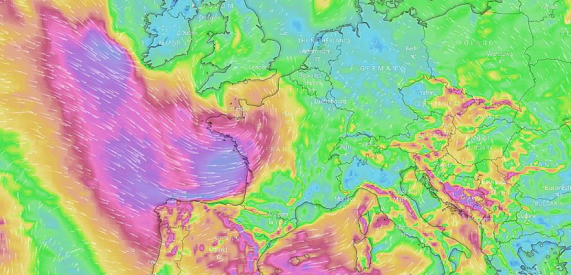 Alerte aux vents violents pour trois départements de Normandie dimanche soir