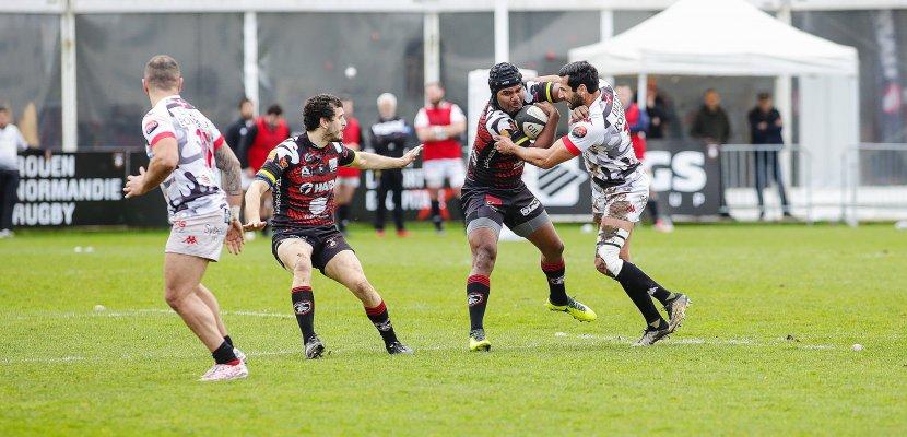 Rugby : Rouen vainqueur à domicile face à Chambéry