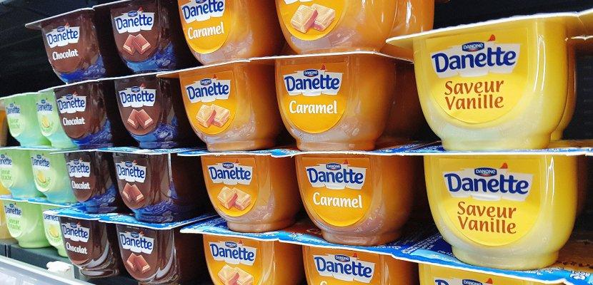 Danette : des lots de crèmes dessert rappelés en Seine-Maritime